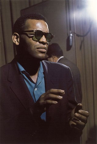 ray charles from jazz blues portfolio by lee friedlander