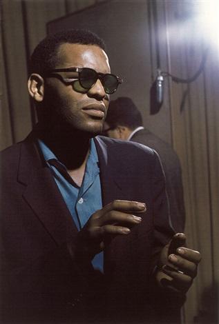 ray charles from jazz blues portfolio by lee friedlander
