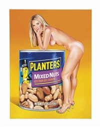 mixed nuts: the lost painting of 1965 #35 by mel ramos