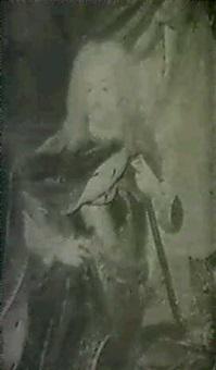 portratt av fredrik i och                  ulrika eleonora d.y. - 1 par by niclas lafrensen the elder