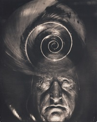 mask of goethe and spiral by edward steichen