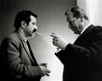 günter grass and willy brandt by digne meller-marcovicz