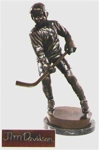 junger eishockeyspieler by jim davidson