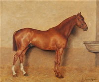 pferd by edmond georges grandjean