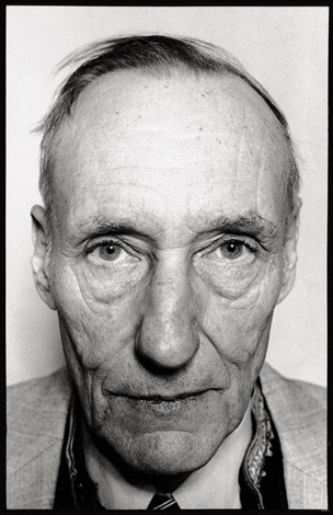 portrait of william s burroughs new york by marcia resnick