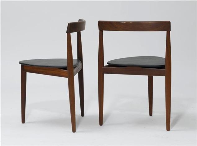 runder tisch mit 4 st hlen set of 5 von hans olsen auf artnet. Black Bedroom Furniture Sets. Home Design Ideas