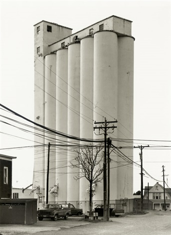 grain elevators sycamore ohio by bernd and hilla becher