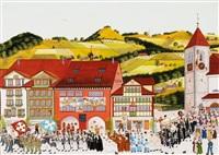 fronleichnamsfest in appenzell by albert manser