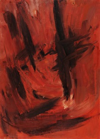 abstrakte komposition by hakki anli