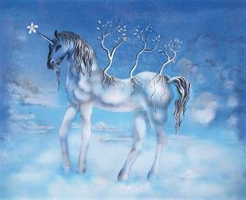 独角马 (unicorn) by salvador dalí