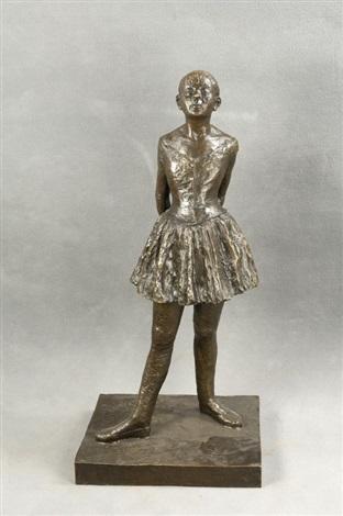 die kleine tänzerin von 14 jahren by edgar degas