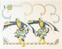 eagle dancers by gilbert atencio