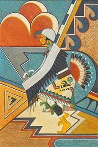 eagle dancer by gilbert atencio