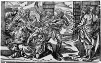 samson und delilah - die gefangennahme samsons by niccolo boldrini