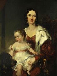 a portrait of a mother and her child by thomas lawrence