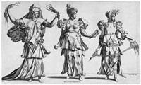 die drei parzen (after rosso fiorentino) by rené boyvin