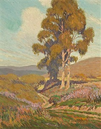 cypress trees by frederick little packer