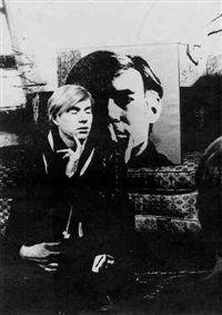 andy & jasper johns by billy name