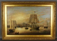 the constitution in boston harbor by brian coole
