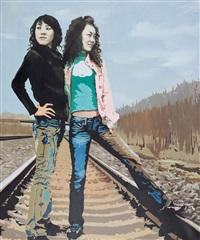 牛仔裤 (jeans) by liu sainan