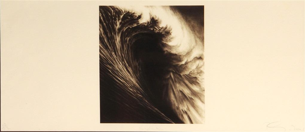 september (from wave portfolio) by robert longo