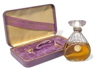 figural perfume bottle: orchidée by julien viard