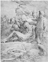 die grablegung christi by parmigianino