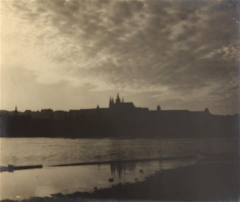 panorama of prague by josef sudek
