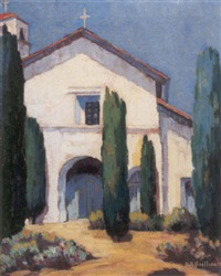 a california mission by anne dodge bailhache