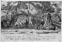 der schwur der französischen soldaten bei montenesino (monte legino) by jean baptiste joseph wicar