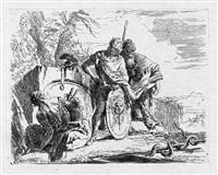 l'astrologo e il giovane soldato (der astrologe mit dem jungen soldaten) by giovanni battista tiepolo
