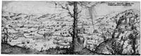 die landschaft mit der bekehrung pauli by augustin hirschvogel