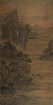 春山翠屏 by cai yuan