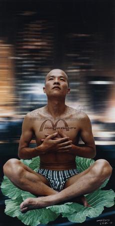 思想者 (the thinker) by wang qingsong