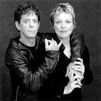lou reed and laurie anderson by timothy greenfield-sanders