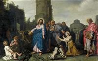 christus und die kanaaniterin by pieter lastman