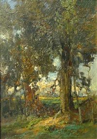 at the edge of the wood by augustus fredrick kenderdine