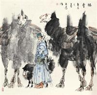瑞雪 by liu dawei
