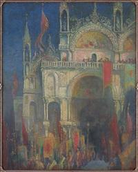 basilica di san marco by gennaro favai