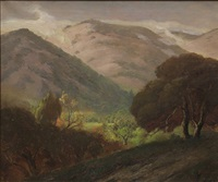 california foothills by jules r. mersfelder