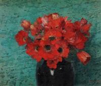 anemonenstilleben by walter vaes