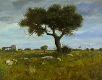 paesaggio salentine (+ primavera; 2 works) by marco fiorillo