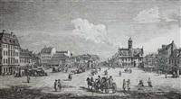 vue de la place de la ville-neuve de dresden, de la grande allée by bernardo bellotto
