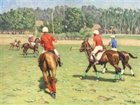 polo match by tim solliday