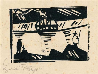 artwork by lyonel feininger