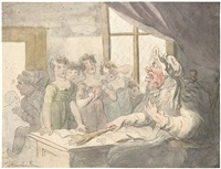 the cruel mistress by thomas rowlandson