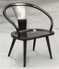 chair (model 207) by isamu kenmochi