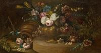 blumenstillleben auf einem tisch by anonymous (18)