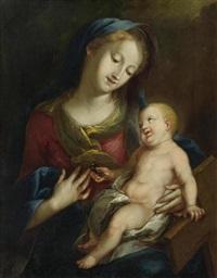 maria mit kind by c. h. rabider