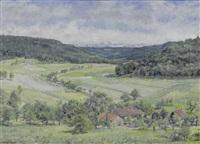 landschaft bei neuenburg by jean affeltranger